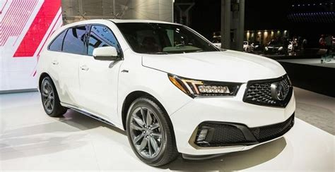 2020 acura mdx a spec 2019 acura mdx a spec black trim and hybrid suv project