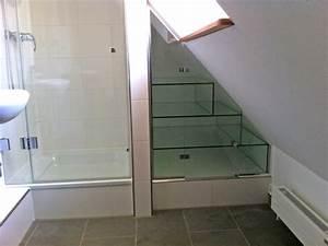 Dusche In Dachschräge Einbauen : duschkabinen duschabtrennung ma anfertigung glaserei wenzel m nchen ~ Markanthonyermac.com Haus und Dekorationen
