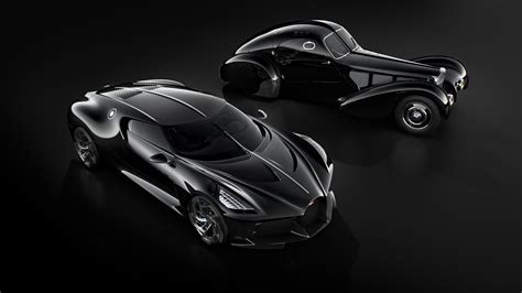 Bugatti La Voiture Noire won't be ready for at least two years
