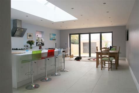 contemporary kitchen extensions how to plan kitchen diner extensions modern design ideas 2486
