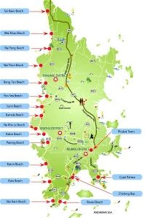 map  phuket ideas  pinterest krabi map laos thailand  thailand