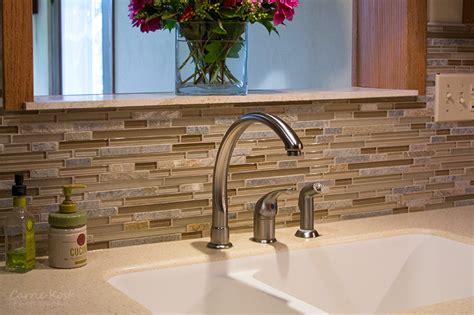 kitchen with glass tile backsplash glass mosaic tile backsplash precision floors decor