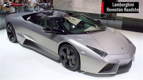 Full List Of Lamborghini Car