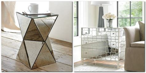 mirrored furniture  tips   ideas home
