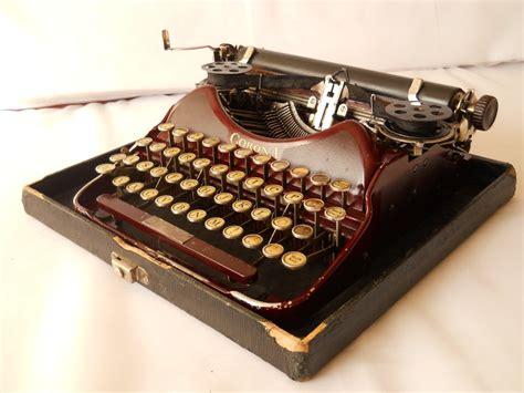 Antique Corona Typewriter Vintage Manual Portable Typewriter