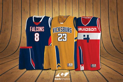 basketball uniforms garb athletics
