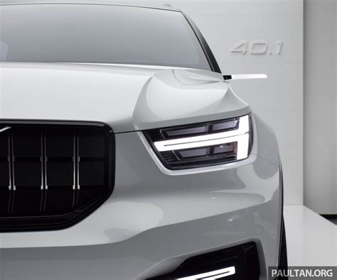 Gallery Volvo 401 Concept Previews All New Xc40 Image 497371