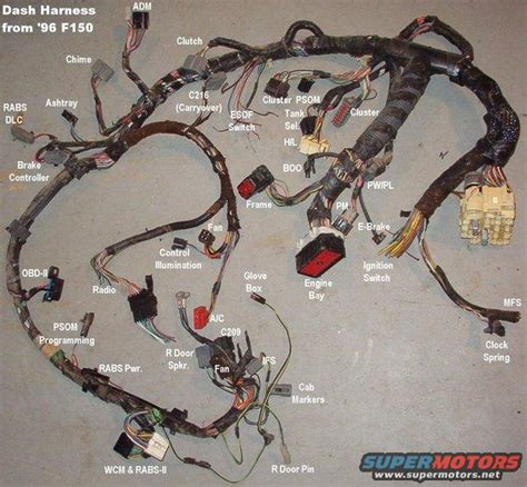 1996 Mustang Transmission Wiring Harnes by Help Eletrical Issues 80 96 Ford Bronco Tech Support