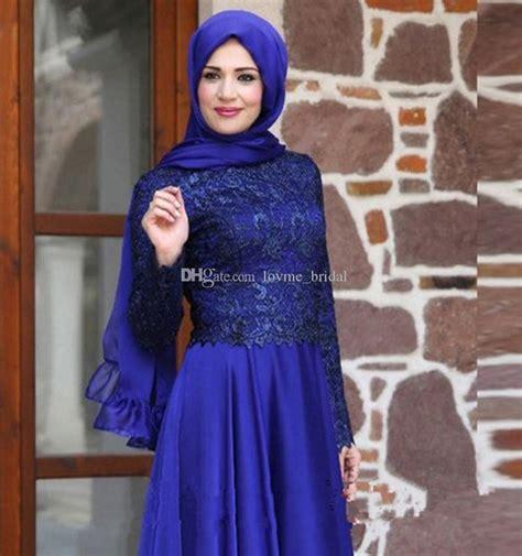 elegant timur tengah gaun malam arab saudi muslim