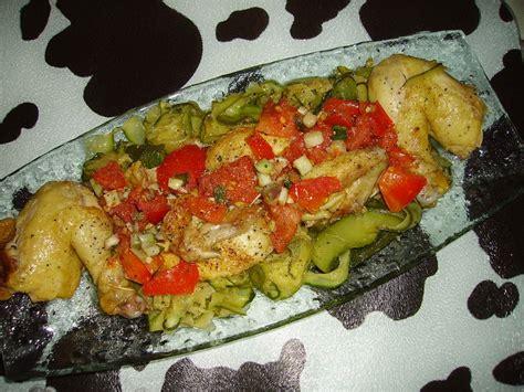 cuisine canalblog coquelet farci de tomate et de cive sur tagliatelles de