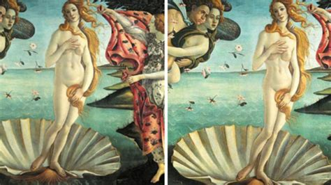 Les Venus Més Famoses De La Història Del Art, Amb Photoshop