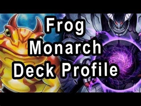 Frog Monarch Deck November 2014 by Yugioh Frog Monarchs For April 1st 2014 Ban List