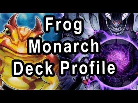 frog monarch deck april 2014 yugioh frog monarchs for april 1st 2014 ban list