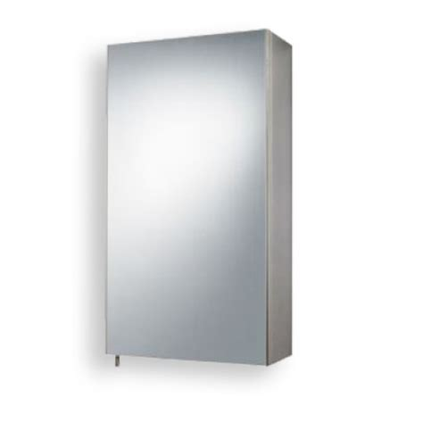 stainless steel mirrored single door cabinet