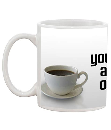 Cost of cup of coffee in india and. TIA Creation Cup of Coffee Gift Coffee Mug: Buy Online at Best Price in India - Snapdeal