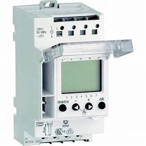 Horloge SCHNEIDER ELECTRIC, 230 V, 16 A Leroy Merlin