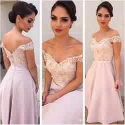 mid length dresses for wedding guests summer wedding guest dresses 2017 shoulder bridesmaid dresses a line knee