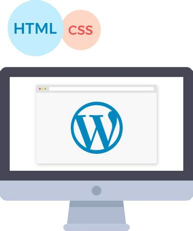 html  wordpress conversion services existing site