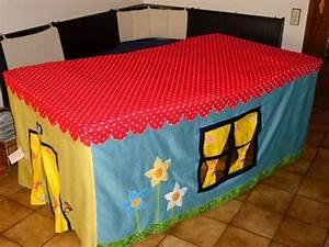 Zelt Kinderzimmer Nähen : husse zelt tischhaus tischzelt kinderzelt tisch von zwottelino auf tischzelt ~ Markanthonyermac.com Haus und Dekorationen