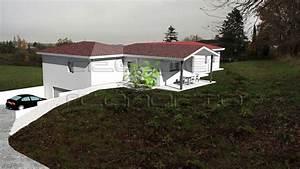 Maison Avec Sous Sol Sur Terrain En Pente : maison sur terrain en pente avec garage enterre maisons pinterest terrain en pente ~ Melissatoandfro.com Idées de Décoration