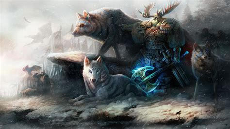 wolf, Original, Characters, Fantasy, Fantasy, Art, Man ...