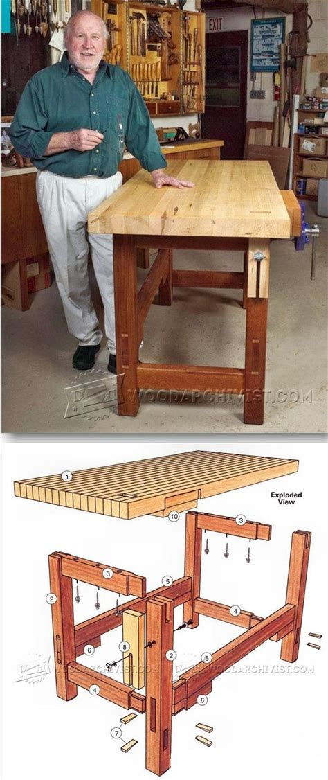 workbench plans workshop solutions projects tips