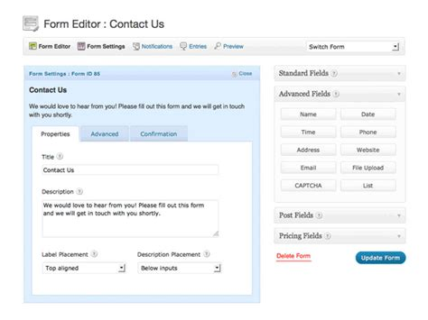 exploring the best form plugins themes