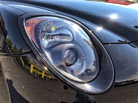 carbon fiber alfa romeo mito headlight trim koshi group llc