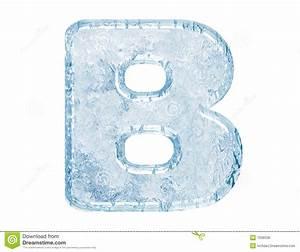 Ice font stock illustration. Illustration of document ...