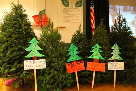 best seattle tree lot west seattle holy rosary tree lot festival and blessing indoors