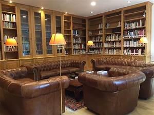 Grande Bibliothèque Murale : importante biblioth que d 39 angle dans le 6e arrondissement ~ Teatrodelosmanantiales.com Idées de Décoration