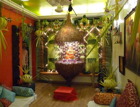 best ganpati decoration ideas for small home ecofriendly