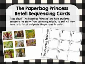 Princess Printables Free Story Retell Sequencing Cards The Paperbag Princess By