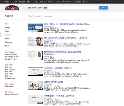 Winning The Video Thumbnail Google Universal Search Moz