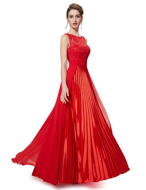 Uk Women Lace Formal Long Evening Party Dress Cocktail