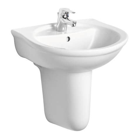 ideal standard kitchen sinks product details e7445 50cm washbasin 1 taphole ideal 4390