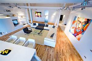 Loft Apartment by Grosu Art Studio. - MyHouseIdea
