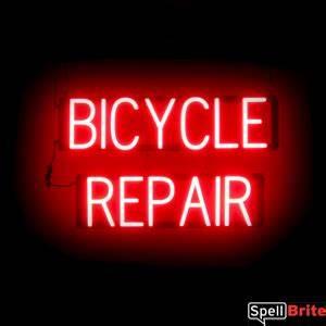 BICYCLE REPAIR 2 Row Sign