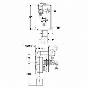 Waschmaschine Abfluss Anschluss : pe unterputzsiphon upsifon senkrecht dn 40 50 mm ~ Buech-reservation.com Haus und Dekorationen