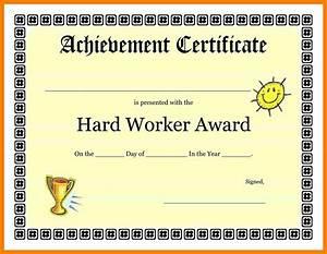 5 good job certificate fancy resume With good job certificate template