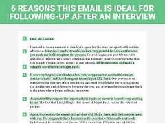 The Perfect Interview Follow Up Letter Business Insider Free Interview Thank You Letter Template Samples Sample After Interview Thank You Note BIZ Pinterest Sample Thank You Letter For Job Offer 7 Examples In