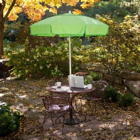 classic 6 ft bistro umbrella contemporary outdoor
