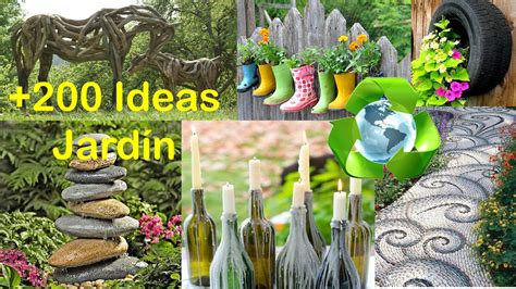 reciclado  decorar jardin ideas recycling  garden