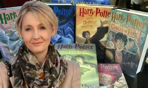 Jk Rowling New Book Harry Potter Author Signs £5m Deal To