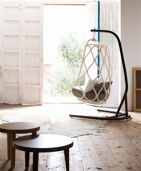 siege suspendu interieur fauteuil de jardin suspendu en 55 idées de meubles design