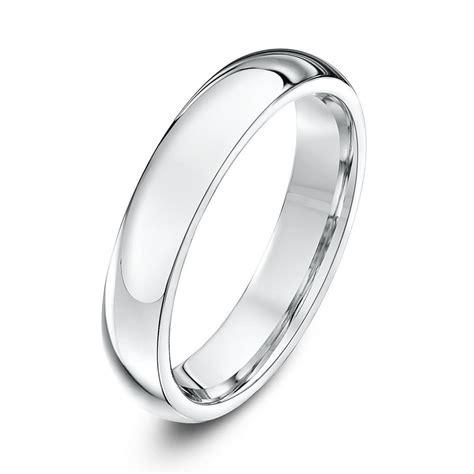 palladium 950 heavy court 4mm wedding ring