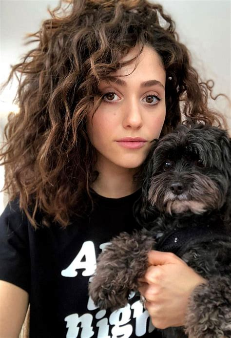 emmy rossum curly natural hair  volume hair style emmarossum hair curlyhair curls