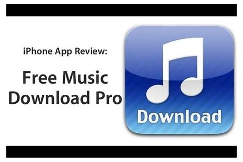 music download pro app free