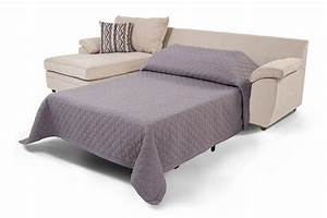saturn 2 piece right arm facing innerspring sleeper With sectional sofa in basement