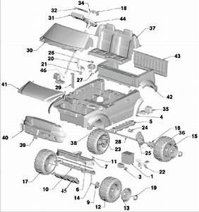 Power Wheels Ford F150 Parts